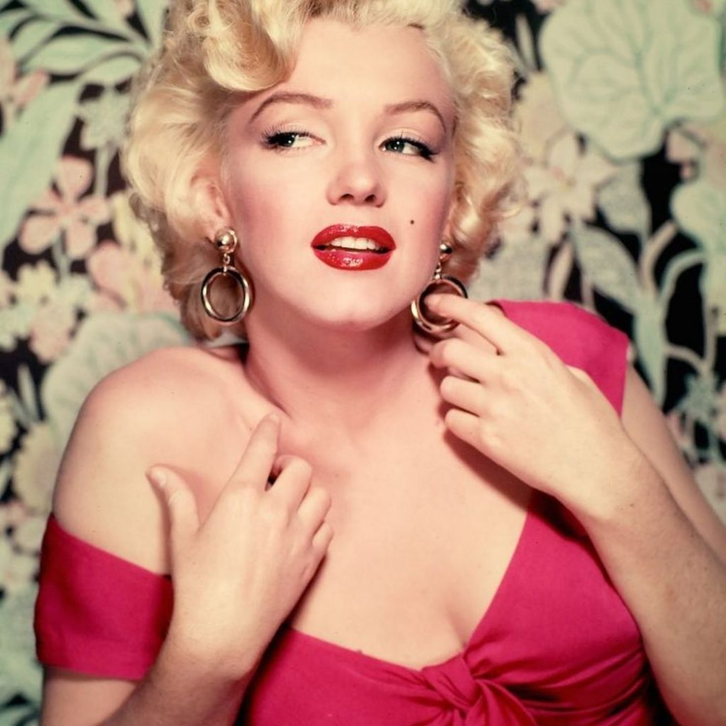 Marilyn Monroe as the Vamp