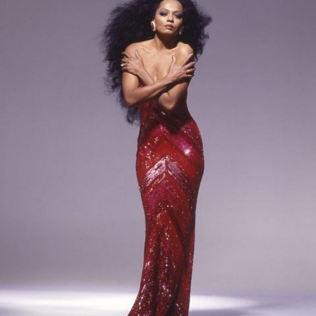 Diana Ross as the Starlet