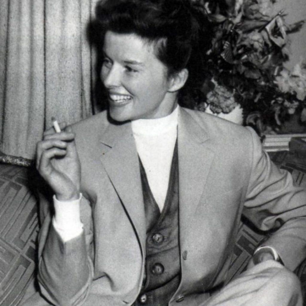 Katharine Hepburn as the Quaintrelle