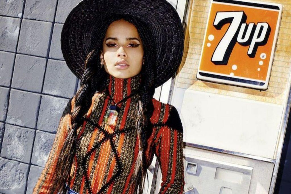 Fancy Bohemian Signature Style Archetype - Zoe Kravitz