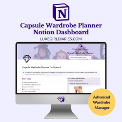 Capsule Wardrobe Planner - Notion Dashboard